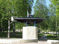 200px-Drzewiecki_submarine._Monument_in_Gatchina